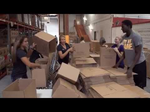 GCU Athletes Assist at St. Mary's Food Bank
