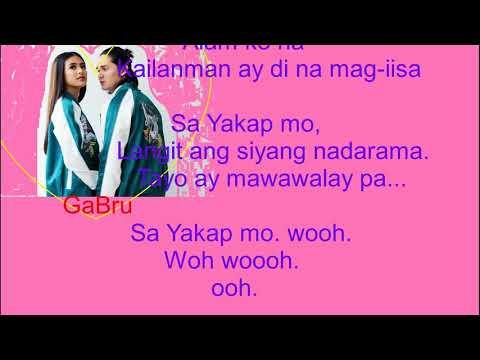 GaBru- Sa Yakap Mo (Sherlock Jr OST) Lyrics +Music Video