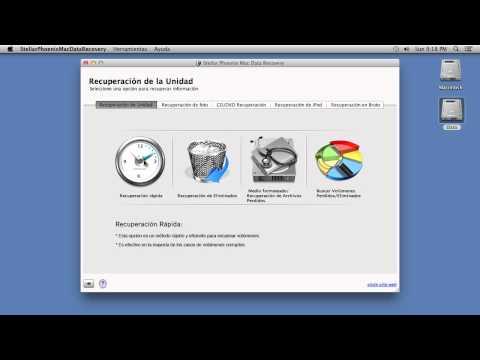 Recuperar Archivos Eliminados Mac