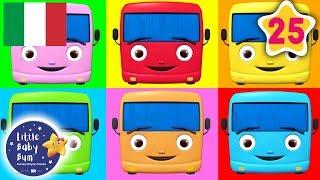 Dieci Mini Bus   25 Minuti di Canzoncine   Little Baby Bum Italia   #canzoniperbambini