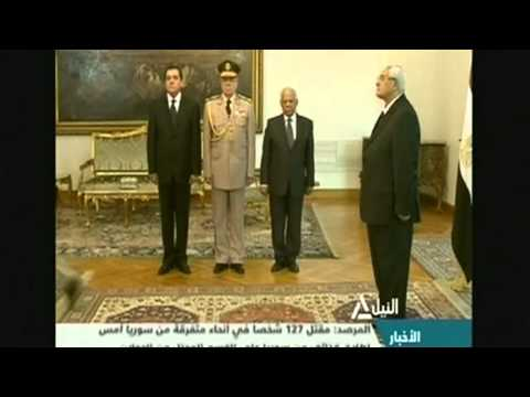 Egypt's deputy prime minister sworn in