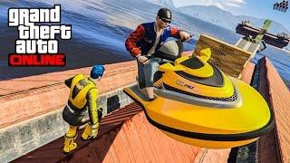 Grand Theft Auto 5 Multiplayer - Part 184 - วิ่งหนีตายจากเจ็ทสกี
