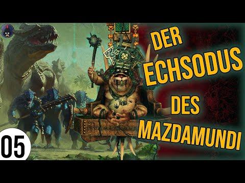 Total War: Warhammer 2 | 05 | Der ECHSODUS des Mazdamundi | Sehr Schwer