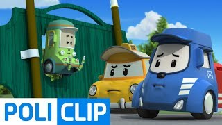 We're sorry! It's our fault | Robocar Poli Rescue Clips