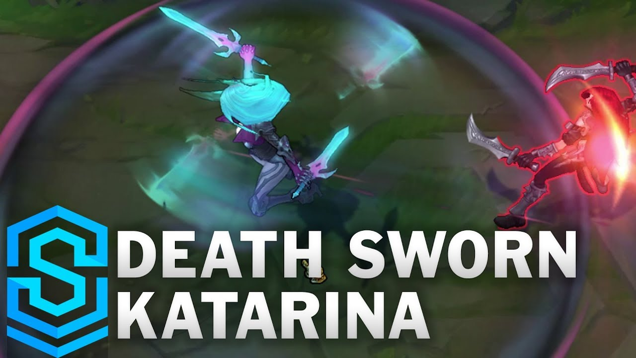 Death Sworn Katarina Skin Spotlight - Pre-Release - League of Legends