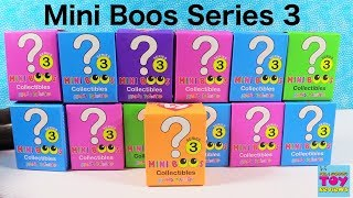 Beanie Boos Mini Boos Series 3 TY Collectible Figures Blind Box Unboxing | PSToyReviews
