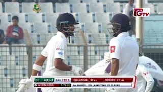 Roshen Silva's 109 Runs against Bangladesh | 1st Test | 1st Innings | Bangladesh vs Sri Lanka