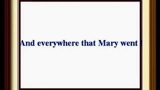 Kids Rhymes  - Mary had a little lamb