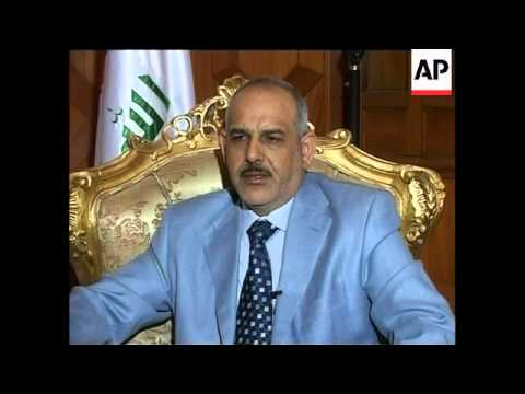 Interior minister on operations against al-Qaida in Iraq