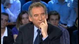 François Bayrou On n'est pas couché 9 mai 2009 #ONPC