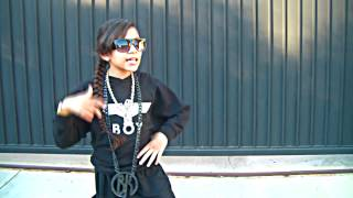 "BABY KAELY ""LIKE A BOY"" AMAZING 9 YEAR OLD KID RAPPER!!"
