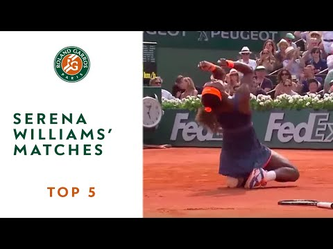 Top 5 moments at Roland Garros: Serena Williams's matches