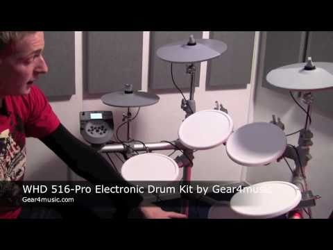WHD 516-Pro Electronic Drum Kit by Gear4music