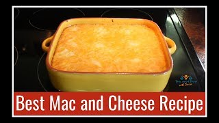 Best Macaroni and Cheese Recipe   Thanksgiving Side Dishes