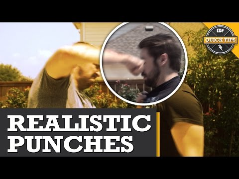 Quicktips: Realistically Punch Faces!