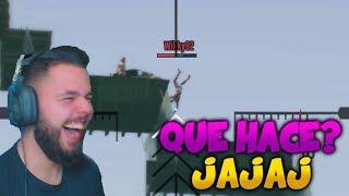 ¡LE TIRA CON EL CULO GORDO! SALE VOLANDO!!   DEATH RUN