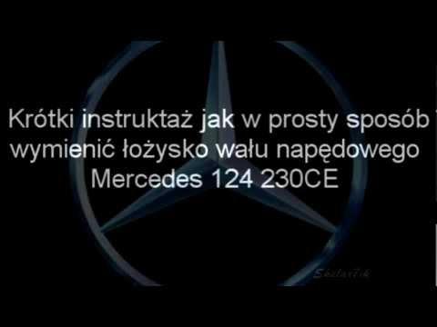 Mercedes 124 Wymiana łożyska na wale