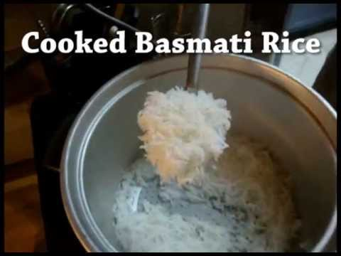 How to Cook Basmati Rice to Perfection, the King/Queen of rice.