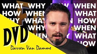 Q&A: Answering Fan Questions (Shame on One of You) | Darren Van Damme