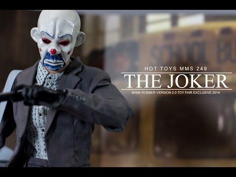 Hot Toys  Bank Robber Joker V2 Review MMS 249