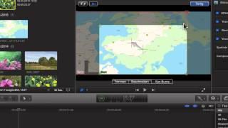 11) Flug über Karte mit Ken-Burns Effekt