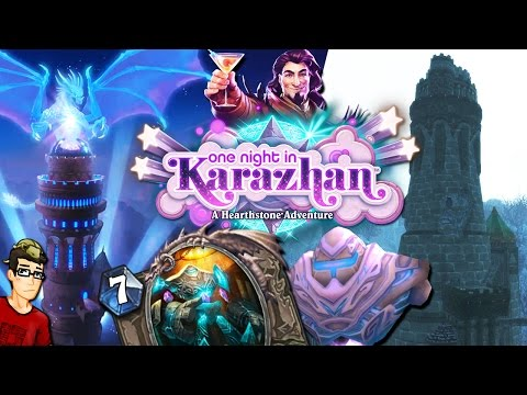 Finding and Discussing the Karazhan Cards in WoW! (New Hearthstone Expansion)