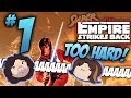 Youtube Thumbnail Super Empire Strikes Back: Impossibly Hard - PART 1 - Game Grumps