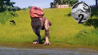 Jurassic World Evolution - Part 2 - HATCHED MY FIRST CARNIVORE!
