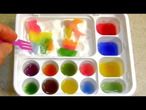 Popin' Cookin' DIY candy kit Maker # 6 Animals Gummy Land  グミランド Oekaki by Kracie グミキャンディーキット