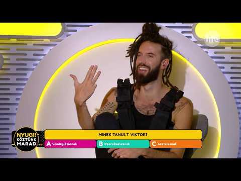 Varga Viktor operaénesként végzett - Life TV