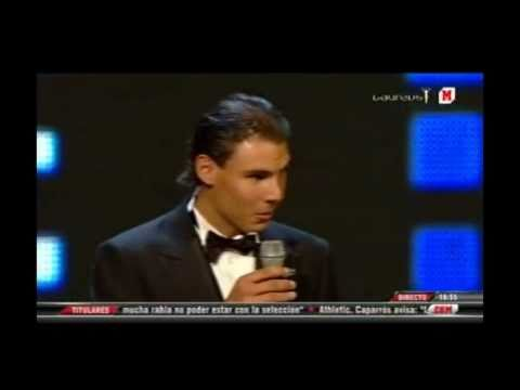 Rafa Nadal Laureus World Sportsman of the Year