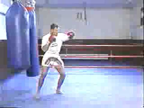 Rob Kaman   Muay Thai Kickboxing Techniques Vol 1   Bag Training part 2 Image 1