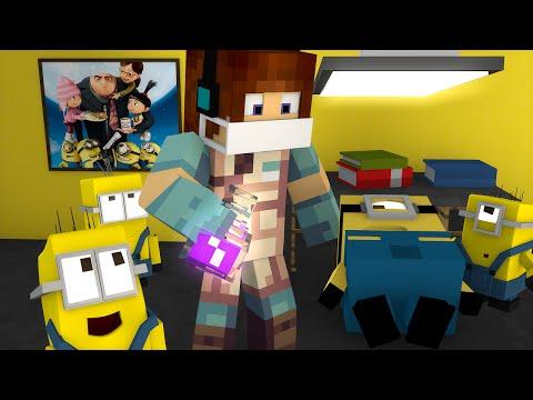 Minecraft: CIRURGIA NOS MINIONS ! - ( Minions Minecraft )