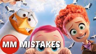 10 Biggest STORKS MOVIE MISTAKES You Missed | Storks Movie