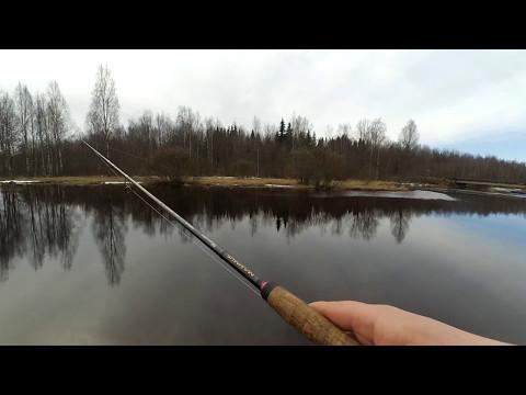рыбная ловля весной март лен обл
