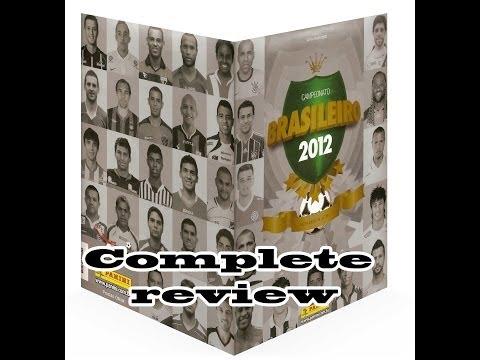 Panini Brasileiro 2012 Álbun e figurinhas Sticker album full review
