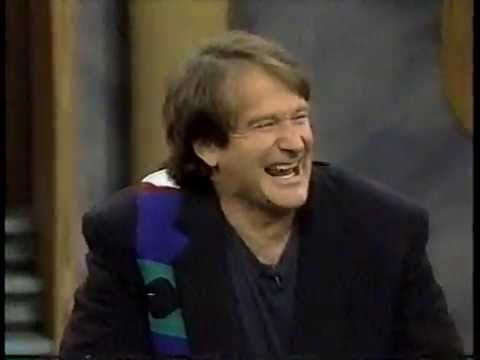 Robin Williams on The Oprah Winfrey Show in 1991