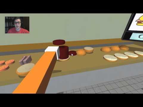 Robbed by RATS! - Hamburger Game