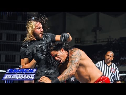 Jey Uso Vs. Seth Rollins: Smackdown, July 12, 2013 video