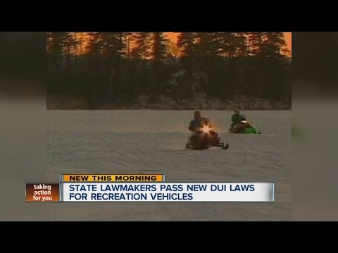 Boaters and snowmobilers could face stricter blood-alcohol limits
