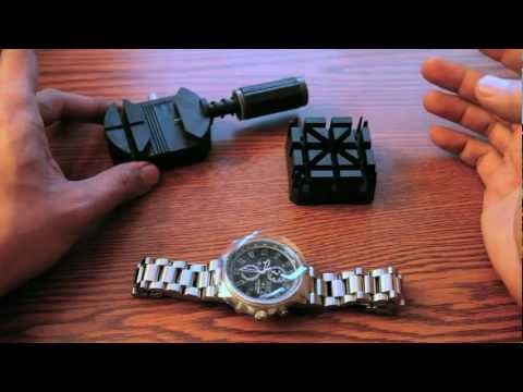 How To Resize A Watch Band - DIY Tutorial