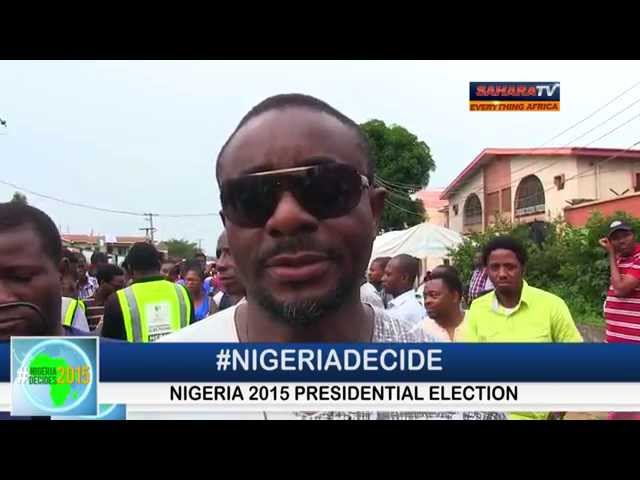Sunny Nneji & Emeka Ike Unable to Vote #NigeriaDecides