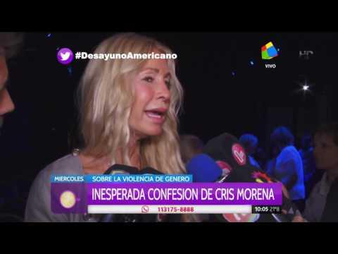 Cris Morena confesó que sufrió violencia de género