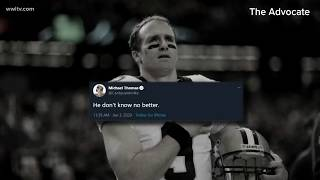 Brees on kneeling during 2020 NFL season: 'I will never agree with anybody disrespecting the flag'