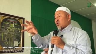Menjawab isu berkenaan 'masalah sosial' di Kelantan.