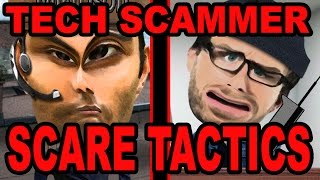Tech Support Scammer Scare Tactics - The Hoax Hotel