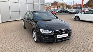 For Sale - NK15WGA - AUDI A3 SPORTBACK S LINE 1.8 TFSI QUATTRO 180 PS S TRONIC £16,990.00