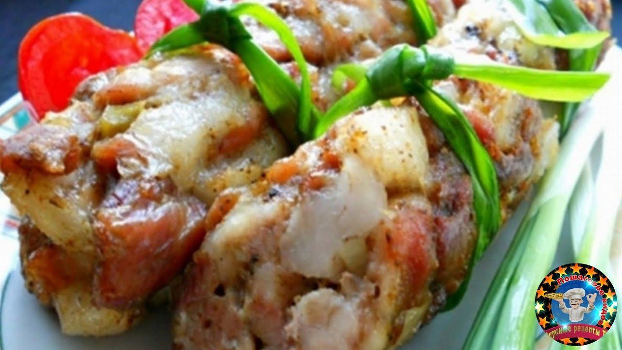 Рецепты из свинины в духовке пошагово