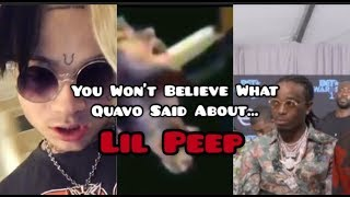 "Quavo DISSES Lil Peep on ""Big Bro"" and Bexey Swan REACTS: ""You're Poppin Xan, But Its Fentanyl..."""