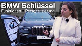 BMW Schlüssel - Funktionen & Anpassung   Tutorial/HowTo/Erklärung